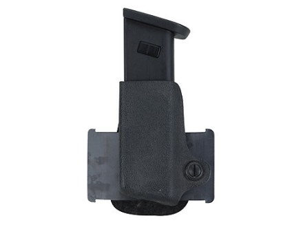 Safariland 074 Single Paddle Magazine Pouch Left Hand Colt Government 380, S&W Sigma 380, Walther PP, PPK, PPK/S Polymer Fine-Tac Black