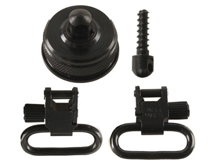 "Uncle Mike's Quick Detachable Sling Swivel Cap Set Browning A5 12 Gauge 1"" Black"