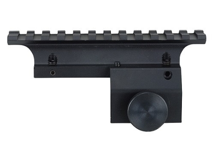 Weaver 1-Piece Multi Slot Tactical Weaver-Style Base for Ruger Mini 14, Mini 30 Matte