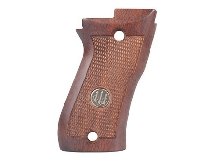 Beretta Factory Grips Beretta 85F Cheetah Wood Brown