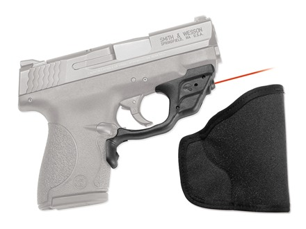 Crimson Trace Laserguard Smith & Wesson Shield Polymer Black