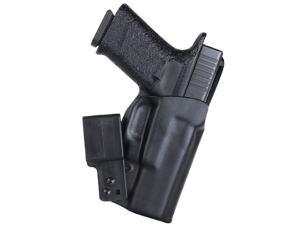 "Blade-Tech Ultimate Concealment Inside the Waistband Tuckable Holster Right Hand with 1.5"" Belt Loop Glock 17, 22, 31 Kydex Black"