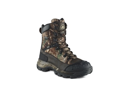 "Irish Setter Grizzly Tracker 9"" Waterproof 400 Gram Insulated Hunting Boots Nylon and Leather Realtree AP Camo Men's Wide (EE)"
