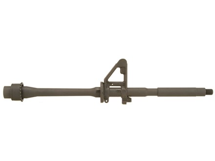 "Model 1 Barrel AR-15 223 Remington M4 Contour 1 in 9"" Twist 16"" Chrome Moly Matte with Front Sight Pre-Ban"