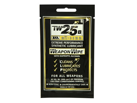 Mil-Comm TW25B Gun Grease Firearm Wipes