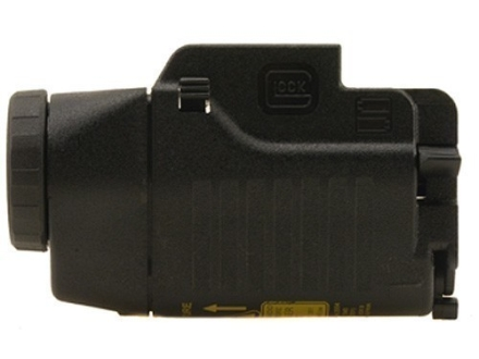 Glock Tactical Flashlight Xenon Bulb with Laser and Batteries Fits Glock-Style Rails Polymer Black