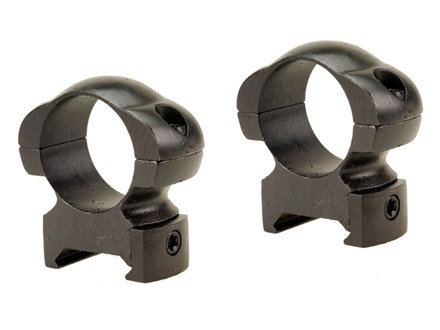 "Weaver 1"" Grand Slam Top Mount Rings Matte High"