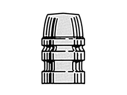 Saeco 1-Cavity Magnum Bullet Mold #326 32 Caliber (313 Diameter) 100 Grain Semi-Wadcutter Bevel Base