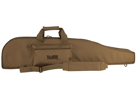 MidwayUSA Heavy Duty Scoped Rifle Case PVC Coated Polyester