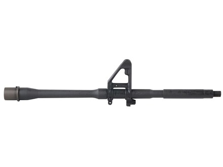 "Daniel Defense Barrel with A2 Front Sight Base AR-15 5.56x45mm NATO M4 Contour Carbine Gas Port 1 in 7"" Twist 16"" Hammer Forged Chrome Lined Chrome Moly Matte Pre-Ban"