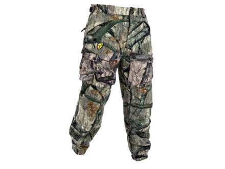"ScentBlocker Men's Dream Season Pro Fleece Pants Polyester Mossy Oak Treestand Camo XL 40-42 Waist 32"" Inseam"