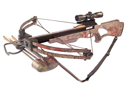 Inferno Hellfire II Crossbow Package Oak Grove Fall Camo