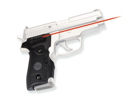 Crimson Trace Lasergrips Sig Sauer P226, P228, P229 Side Activation Overmolded Rubber Wrap-Around Black