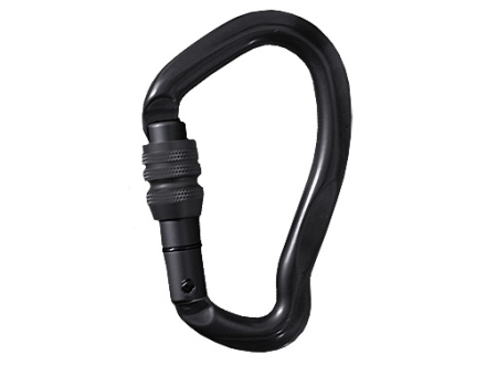Hunter Safety System Replacement Carabiner Steel Black Pack of 2