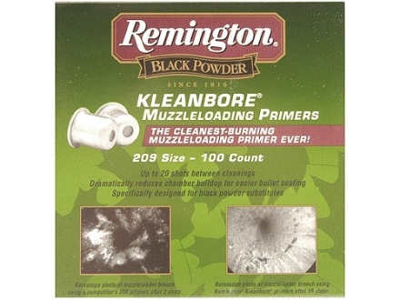 Remington Primers #209 Muzzleloading Box of 500 (5 Trays of 100)