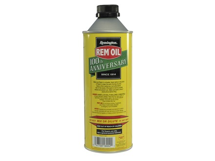 Remington Rem Oil Gun Oil 100th Aniversary