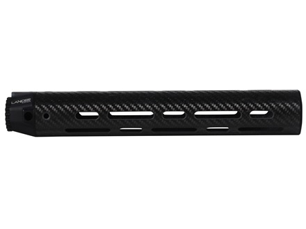 Lancer Systems LCH Free Float Tube Handguard AR-15 Rifle Length Vented Carbon Fiber
