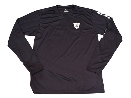 Browning Black Label Performance T-Shirt Long Sleeve Polyester