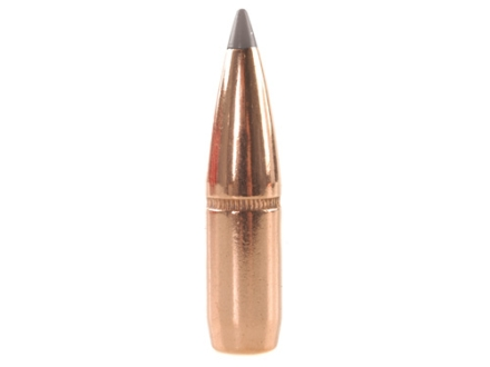 Blemished Bullets 270 Caliber (277 Diameter) 130 Grain Polymer Tip Spitzer Boat Tail Box of 100 (Bulk Packaged)