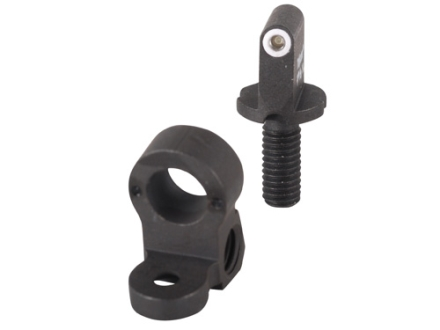 XS 24/7 Precision Tactical Sight Set AR-15 Steel Matte Tritium Standard Dot Front, Tritium Same Plane Ghost Ring Rear