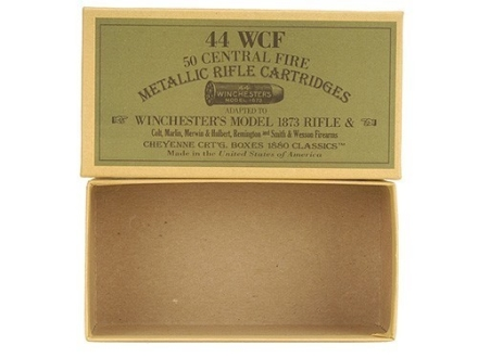Cheyenne Pioneer Cartridge Box 44-40 WCF Chipboard Package of 5