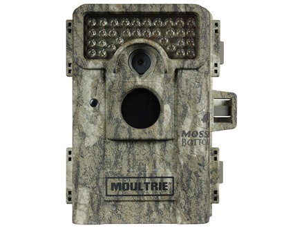 Moultrie M-880i Black Flash Infrared Game Camera 8 Megapixel Mossy Oak Bottomland Camo