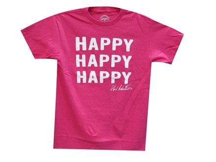 "Duck Commander Women's Short Sleeve ""Happy, Happy, Happy"" T-Shirt"