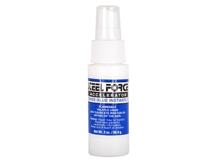 Steel Force Beyond Bond Accelerator Arrow Fletching and Insert Adhesive Accelerator 2 oz Bottle