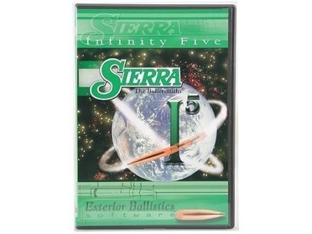 """Sierra Infinity Exterior Ballistics Software Version 5.1"" CD-ROM"