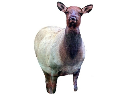 Montana Decoy Cow Elk Flasher Elk Decoy Cotton, Polyester and Steel