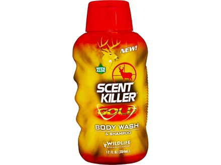 Wildlife Research Center Scent Killer Gold Scent Eliminator Body Wash and Shampoo 12 oz