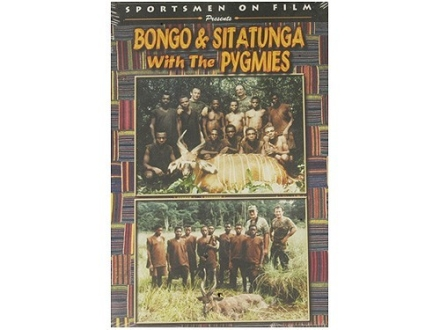 "Sportsmen on Film Video ""Bongo & Sitatunga with the Pygmies"" DVD"