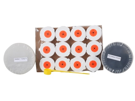 Tannerite White Lightning Rimfire Exploding Target Package of 12