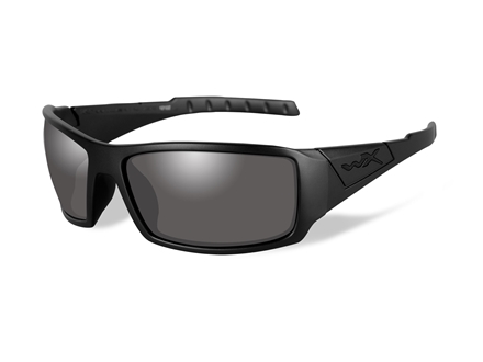 Wiley X Black Ops WX Twisted Polarized Sunglasses Smoke Gray Lens