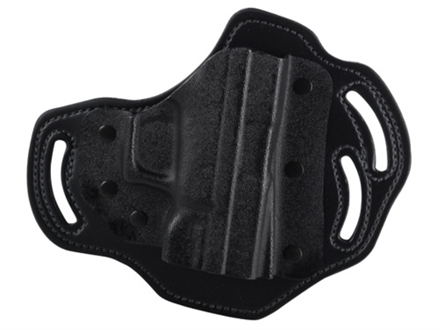 DeSantis Intimidator Outside the Waistband Holster Right Hand Springfield XD9, XD40, XDM Kydex and Leather Black