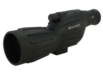 Barska Spotting Scope 15-40x 50mm Straight Body with Mini Tripod and Soft Case Black