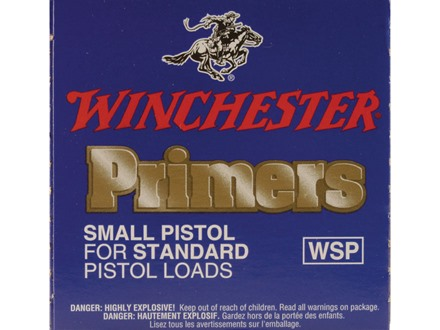 Winchester Small Pistol Primers #1-1/2