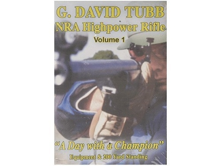 "Gun Video ""NRA Highpower Rifle Competition: Volume 1 with G. David Tubb"" DVD"