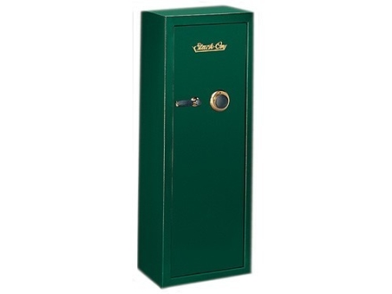 Stack-On 10-Gun Security Safe with Combination Lock Green