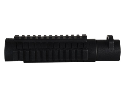 ProMag Tri-Rail Forend with Adapter Mossberg 500, 590 12 Gauge Synthetic Black