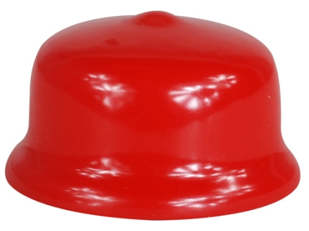 Satern Aperture Sight Cover for 22mm Sight Rubber Red