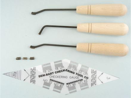 Dem-Bart Starter Checkering Kit 18 Lines per Inch