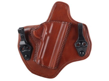 Bianchi Allusion Series 135 Suppression Tuckable Inside the Waistband Holster Right Hand 1911 Commander Leather Tan