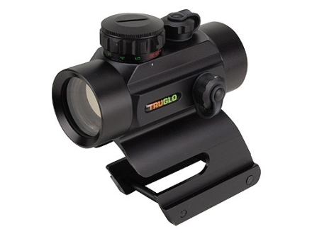 TRUGLO Red Dot Sight 30mm Tube 1x 5 MOA Red and Green Dot with Integral Remington Shotgun Mount Matte