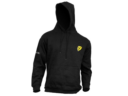 ScentBlocker Men's Bone Collector Logo Hooded Sweatshirt Cotton Polyester Blend Black Medium 38-40