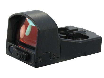 Pride Fowler Special Ops Compact Auto Reflex Red Dot Sight 5 MOA Dot Matte