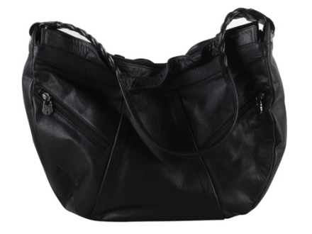 Galco Pax Conceal Carry Handbag Leather Black