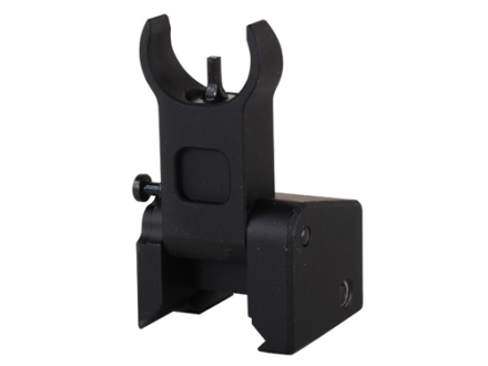 Midwest Industries Flip-Up Low-Profile Front Sight Gas Block Height AR-15, LR-308 Aluminum Black