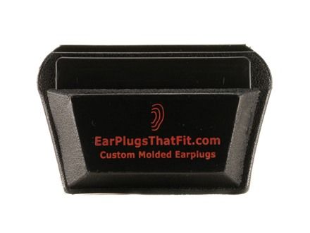 Radians Ear Plug Carry Case Polymer Black