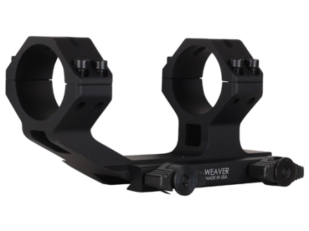 Weaver SPR 1-Piece Scope Mount Picatinny-Style with Integral 30mm Rings Flattop AR-15 Matte
